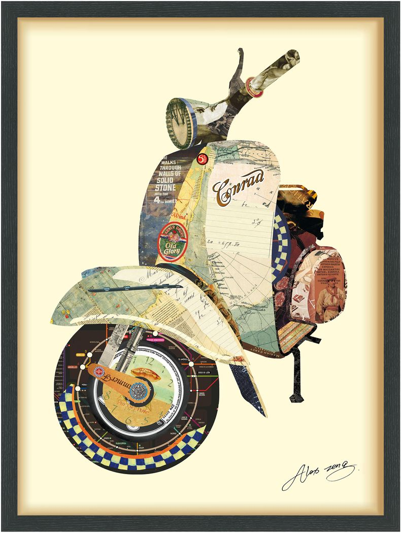 Dazi Scooter Artwork