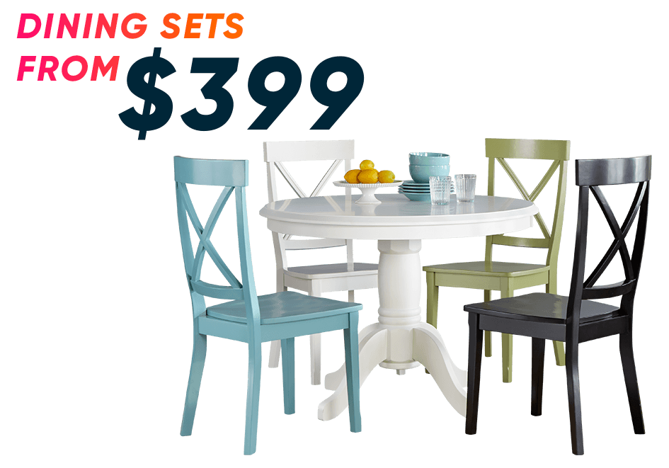 dining sets from $399