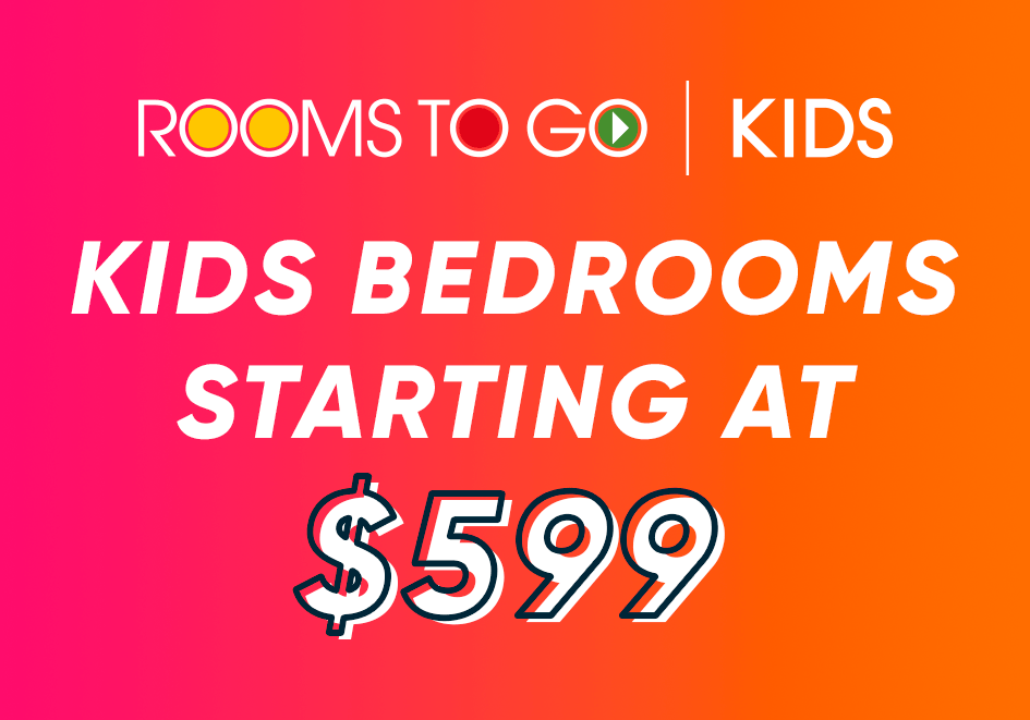 kids bedrooms starting at $599