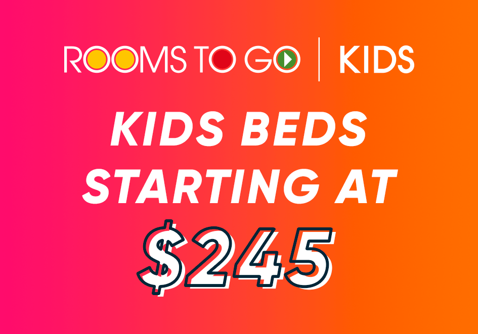 kids beds starting at $245