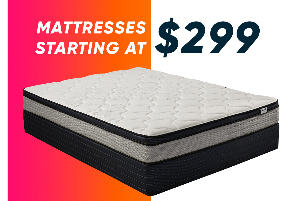 mattresses starting at $299