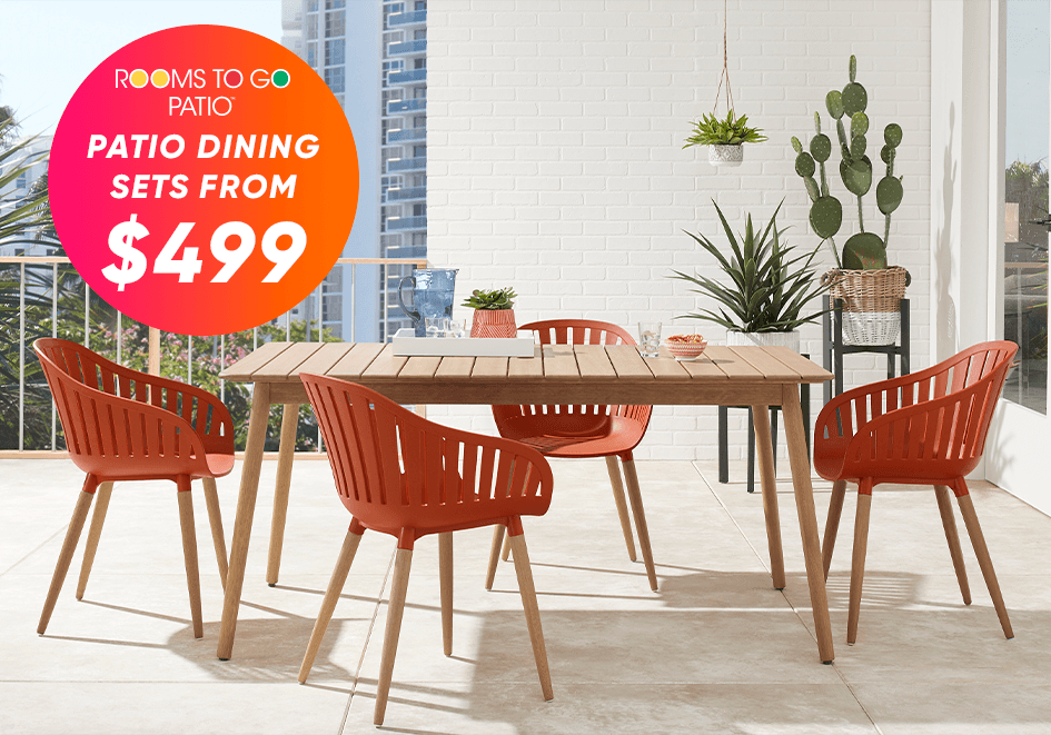 patio dining sets from $499
