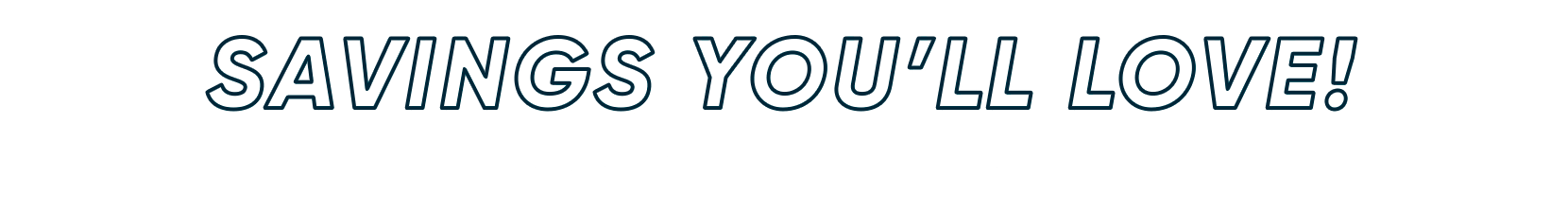 savings you'll love. deals on 100s of styles picked for you