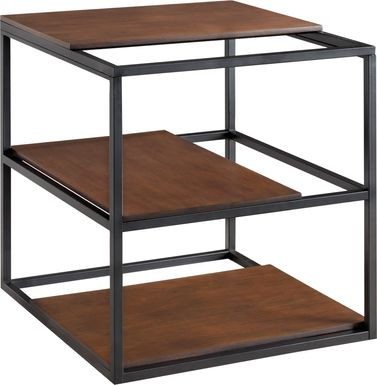 Decklan Brown End Table