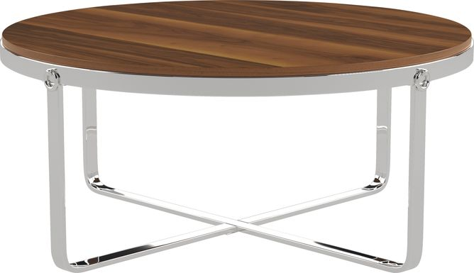 Deems  Brown Cocktail Table