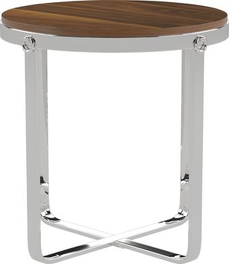 Deems  Brown End Table