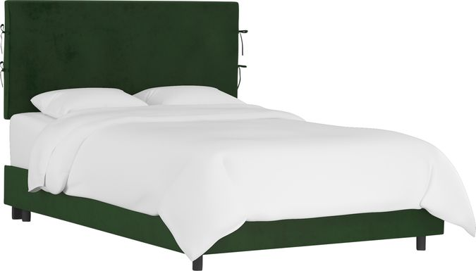 Deep Forest Emerald King Upholstered Bed