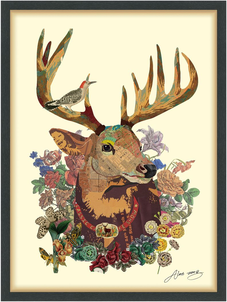Deer Buck Artwork