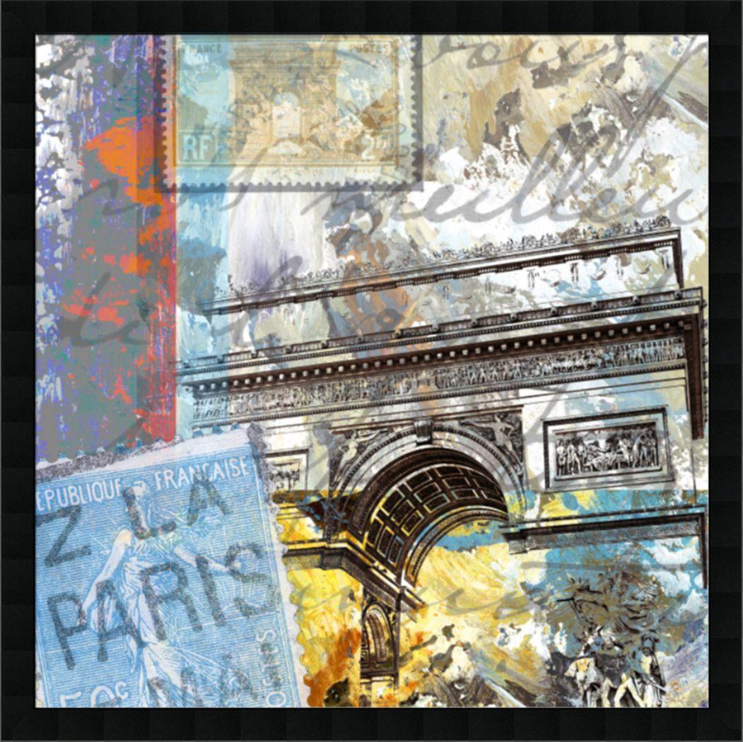 Degas Arch Gray Artwork