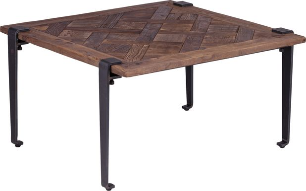 Dellco Brown Cocktail Table
