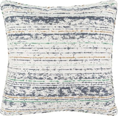 Delmare Navy Indoor/Outdoor Accent Pillow