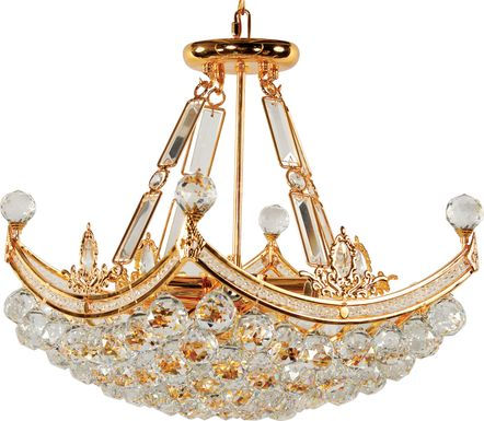 Deneb Gold Chandelier