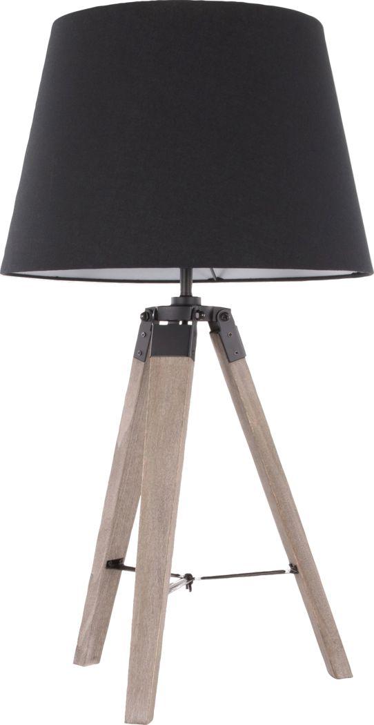 Dergano Black Lamp
