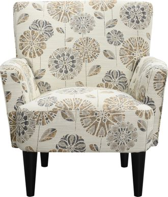 Desco Brown Accent Chair