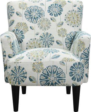 Desco Teal Accent Chair