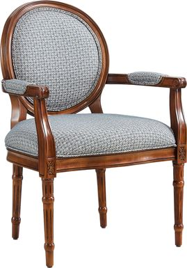 Desdemona Blue Accent Chair