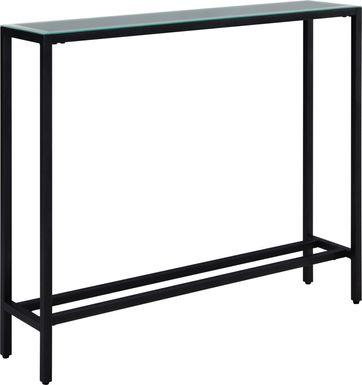 Desner Black Small Console Table