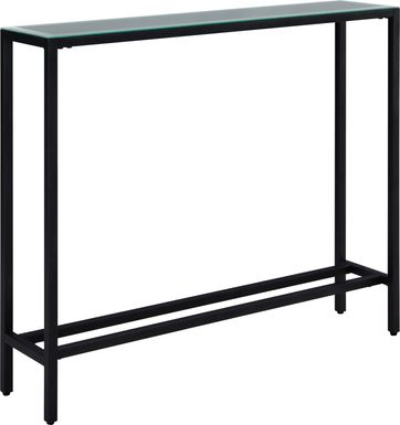Desner Black Small Console Table
