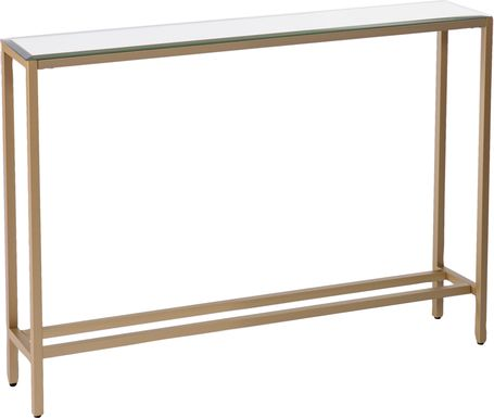 Desner Gold Small Console Table