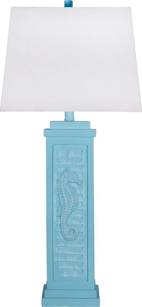 Dexmoor Light Blue Lamp
