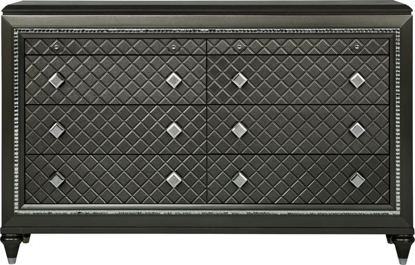 Diamond Falls Gray Dresser