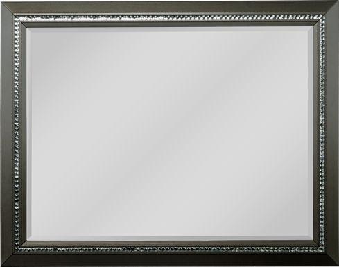 Diamond Falls Gray Mirror