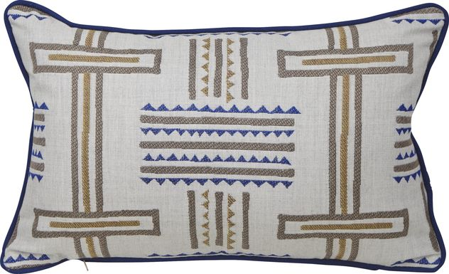 Tolson Twilight Blue Indoor/Outdoor Accent Pillow