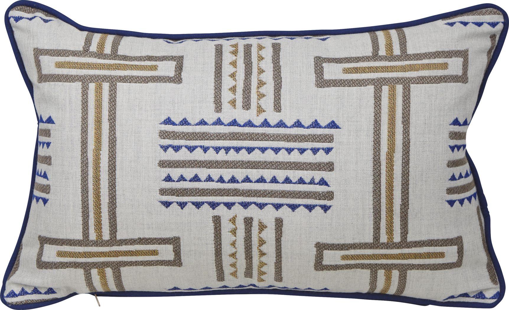 Tolson Twilight Blue Indoor/Outdoor Accent Pillow