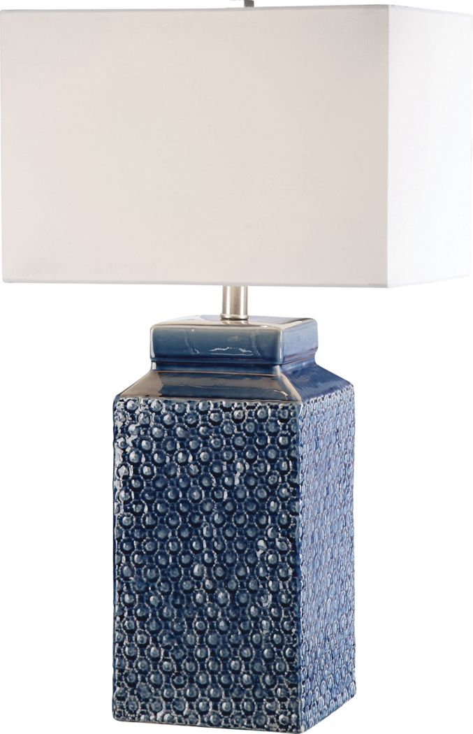 Diane Drive Blue Lamp