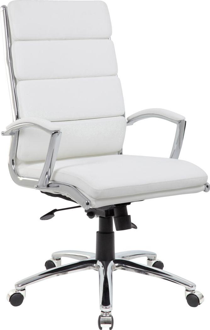 Dilkon White Desk Chair