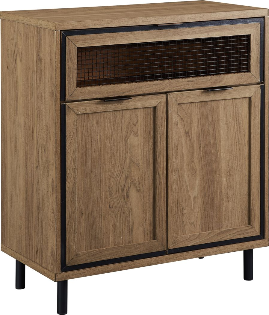 Dingley Oak Accent Cabinet