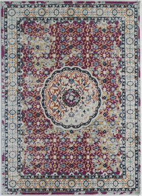 Dipal Red 8' x 10' Rug