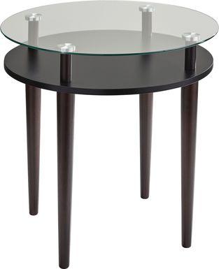 Disbrow Walnut End Table