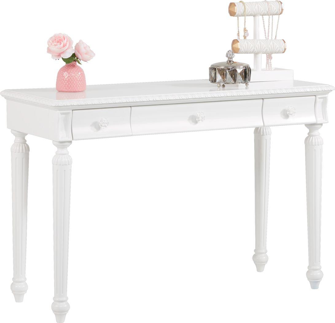 Disney Princess Dreamer White Desk