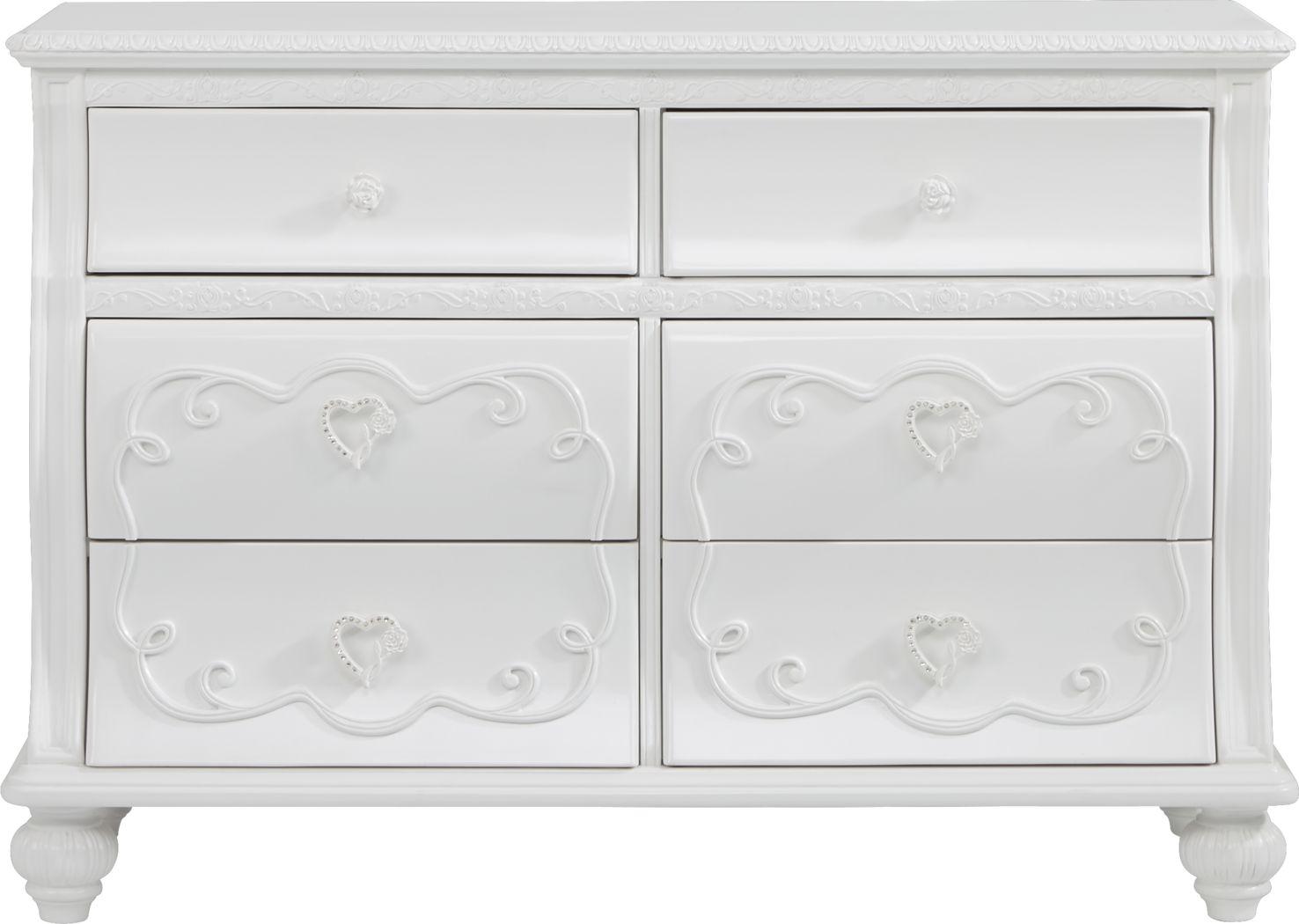 Disney Princess Dreamer White Dresser