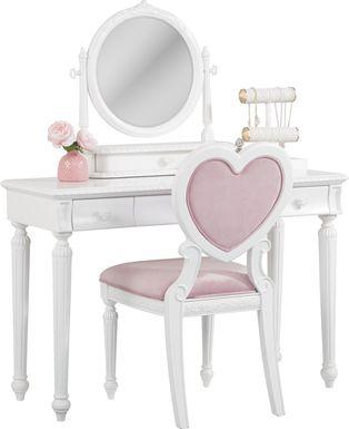 Disney Princess Dreamer White Vanity Set