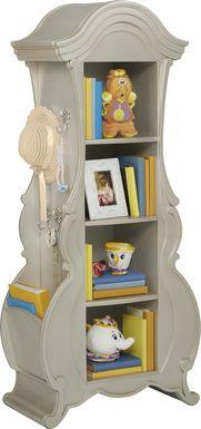Disney Princess Fairytale Silver Bookcase
