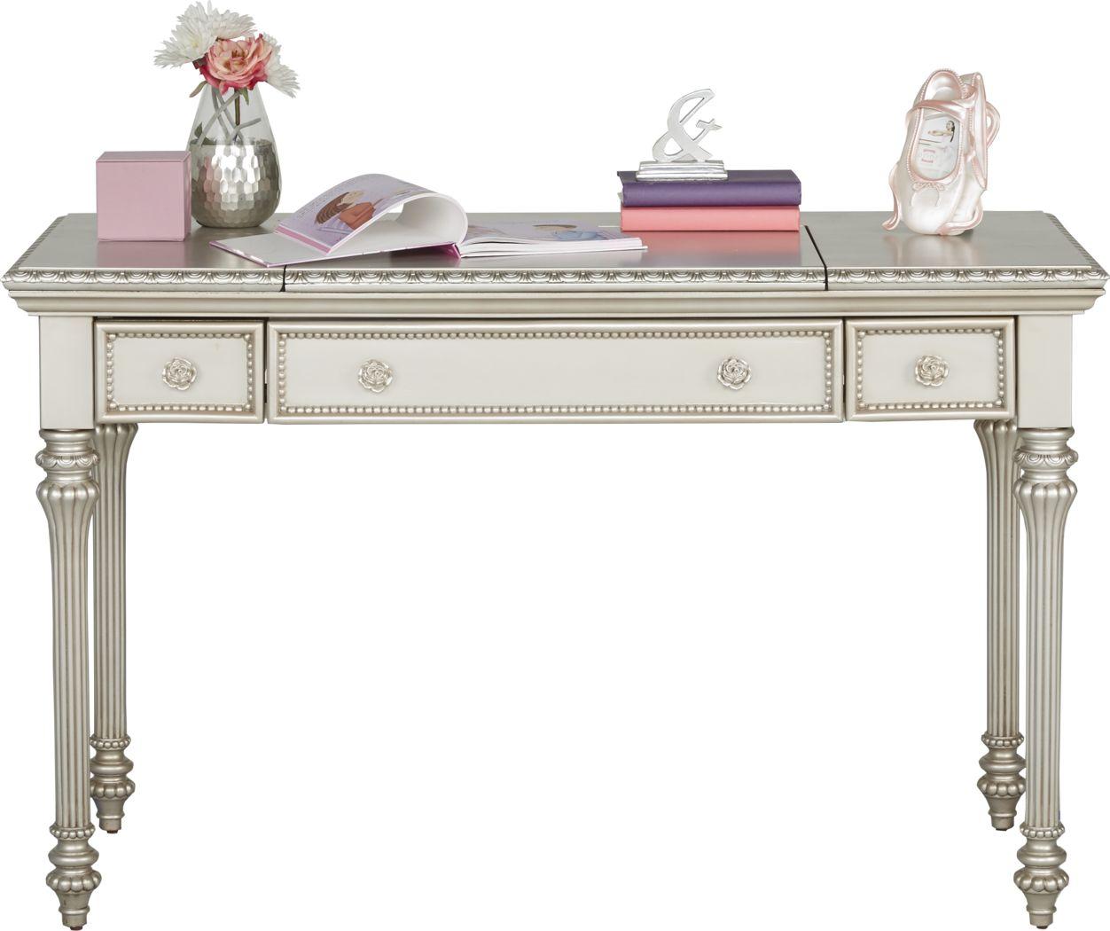 Disney Princess Fairytale Silver Vanity Desk