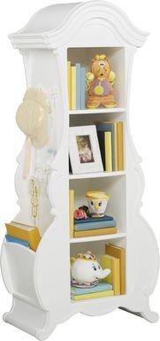 Disney Princess Fairytale White Bookcase
