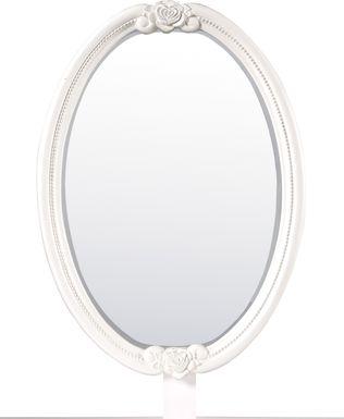 Disney Princess Fairytale White Oval Mirror