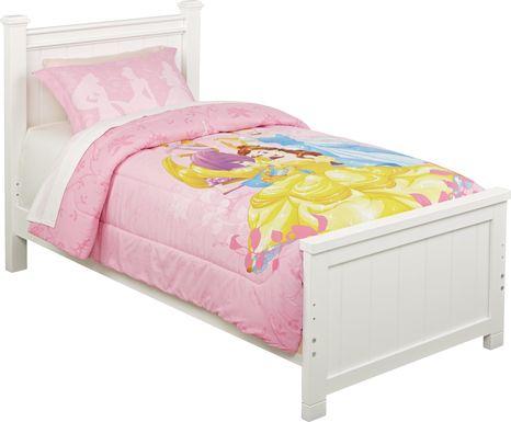 Disney Princess Heart Strong 2 Pc Twin/Full Comforter Set