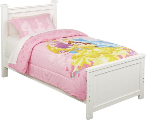 Disney Princess Heart Strong 2 Pc Twin/Full Comforter Set