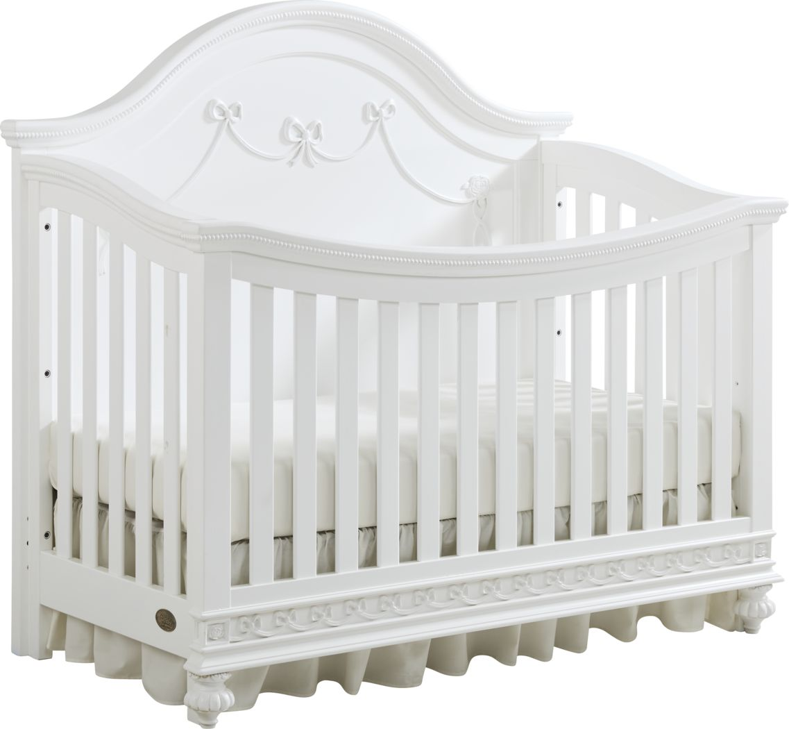 Disney Princess White Crib