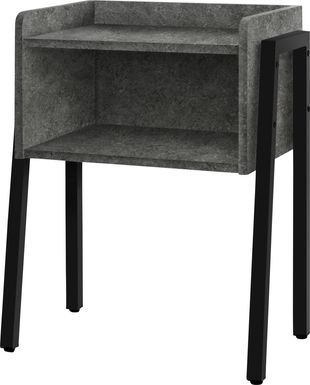 Division Gray Accent Table