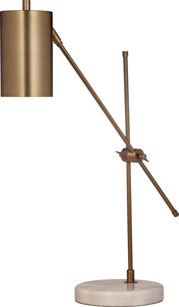 Dixon Landing Brass Task Lamp