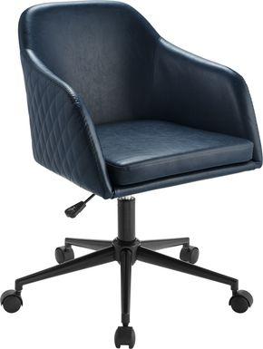 Dolfield Navy Desk Chair
