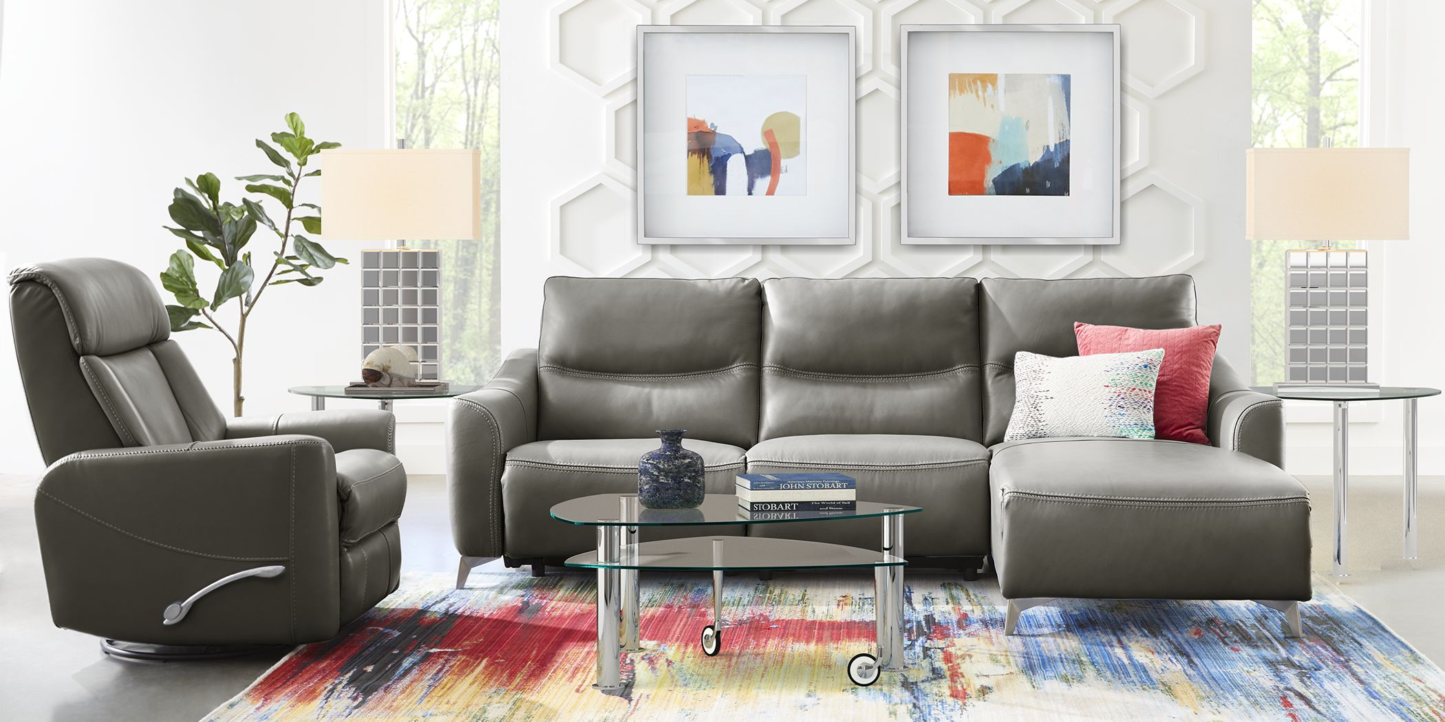 domio-gray-leather-3-pc-sectional