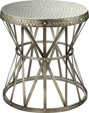 Donamere Silver Accent Table