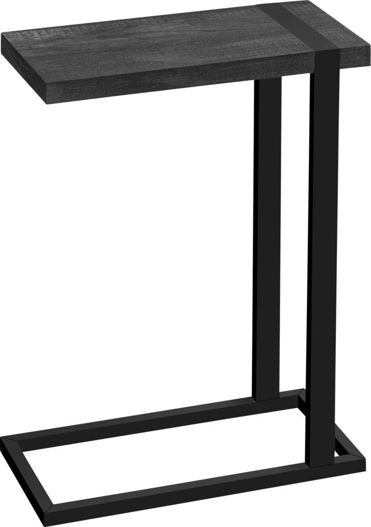 Donbree Black Side Table