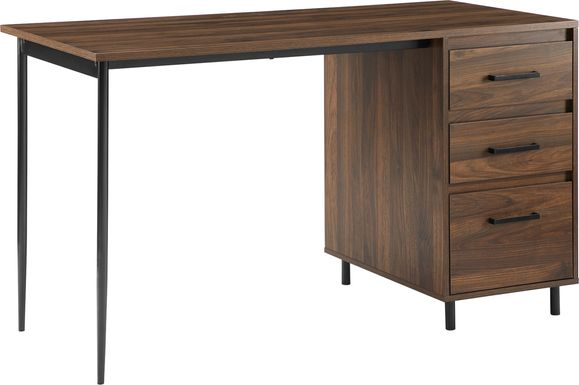 Donington Brown Desk